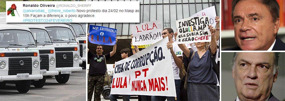 Marcado novo ato contra Lula: quantas kombis?