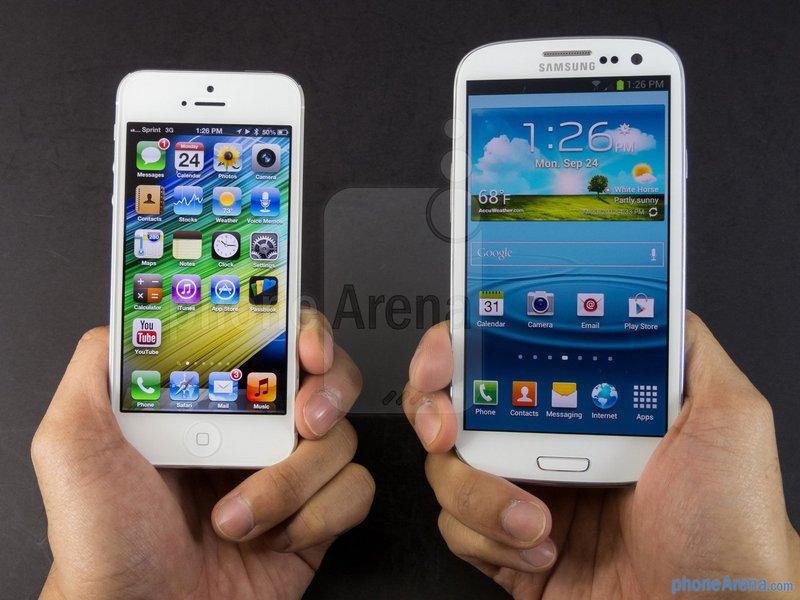 Apple perde mais terreno para a Samsung
