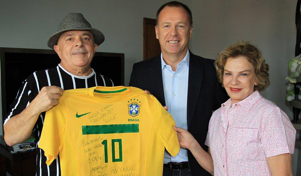 Lula liga para Mano e diz que prata não é derrota