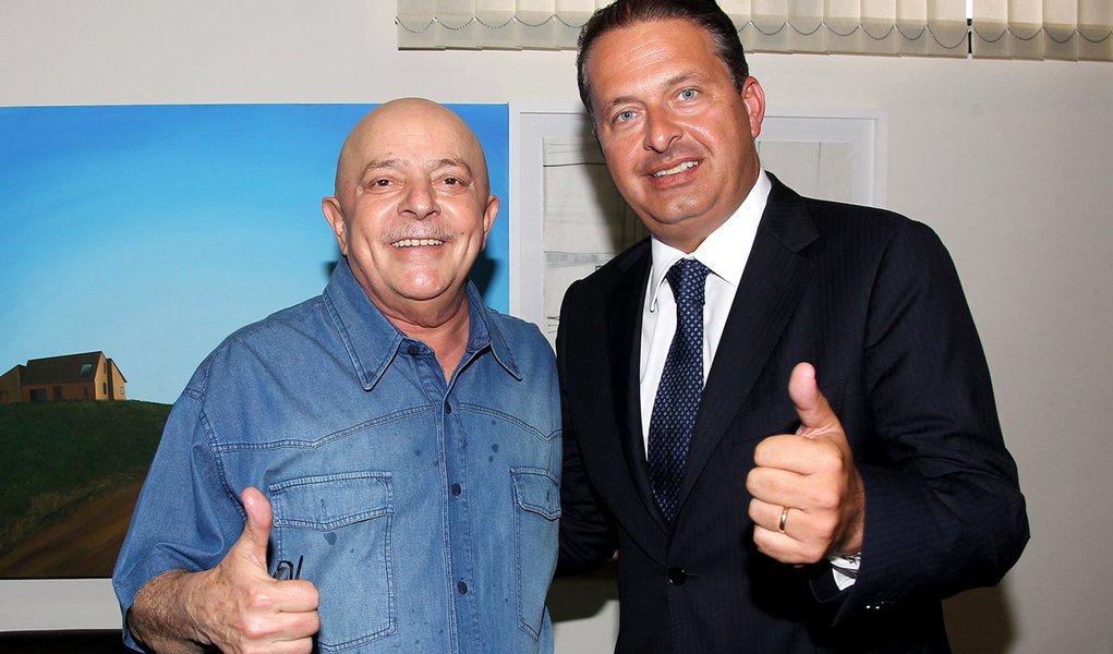 Lula aposta em Campos no Planalto. Em 2018