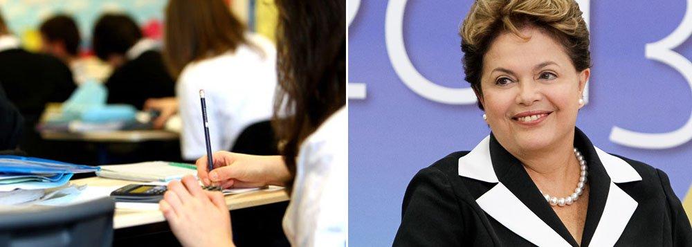 Dilma: Sisu é fundamental para ampliar acesso à educação