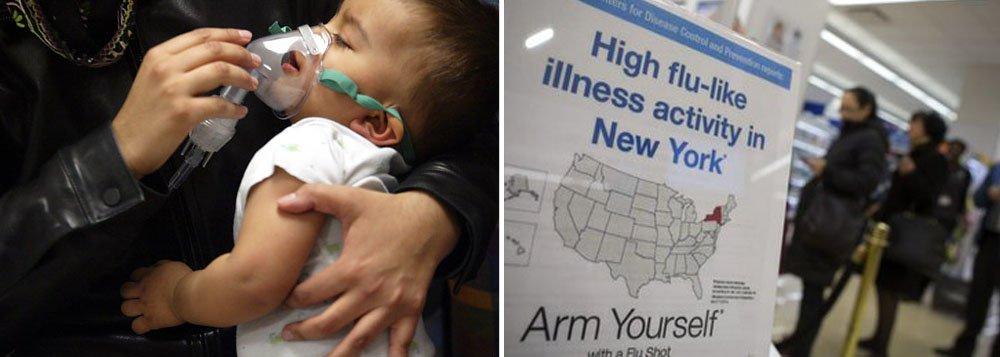 NY declara estado de emergência por surto de gripe