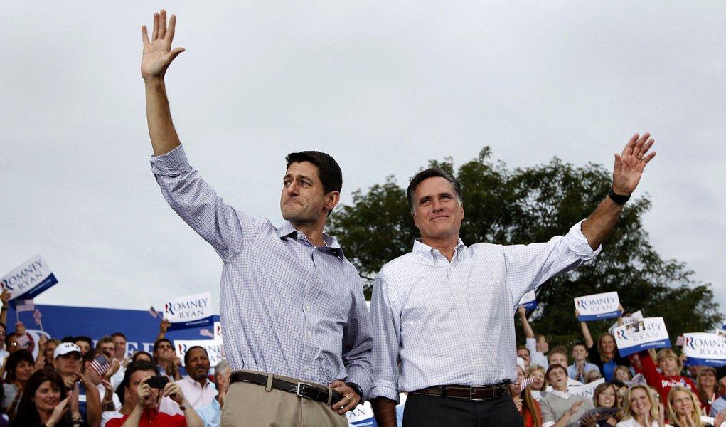 Vice de Romney é apoiado pelo Tea Party