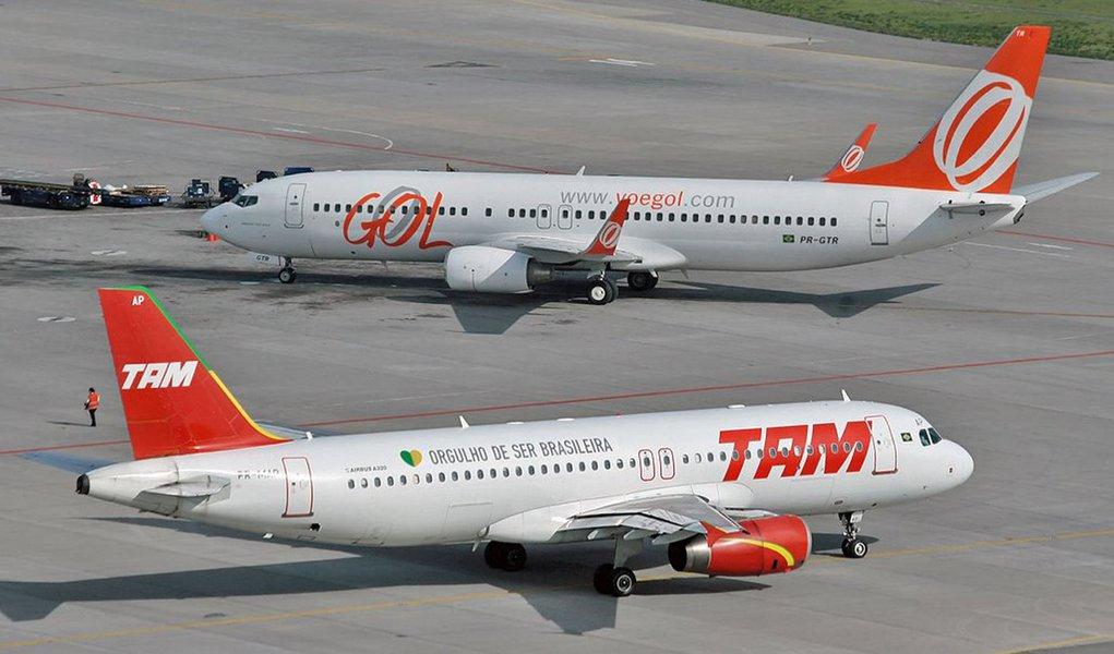 TAM e Gol, duas das companhias menos seguras do mundo