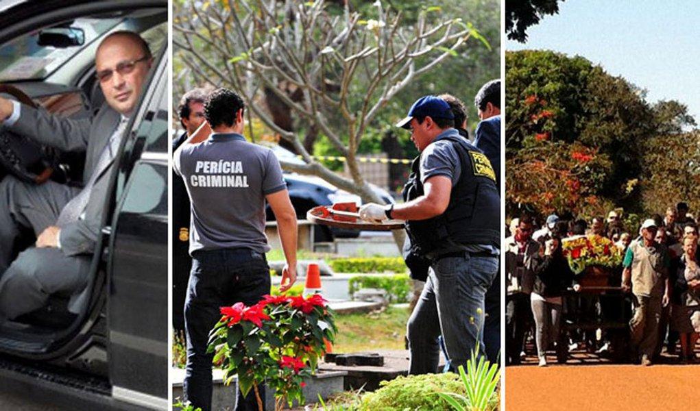 Dois suspeitos são presos pela morte do agente da PF
