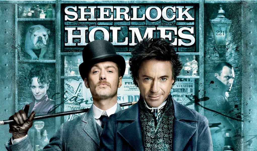 'Sherlock Holmes' é a grande estreia do fim de semana