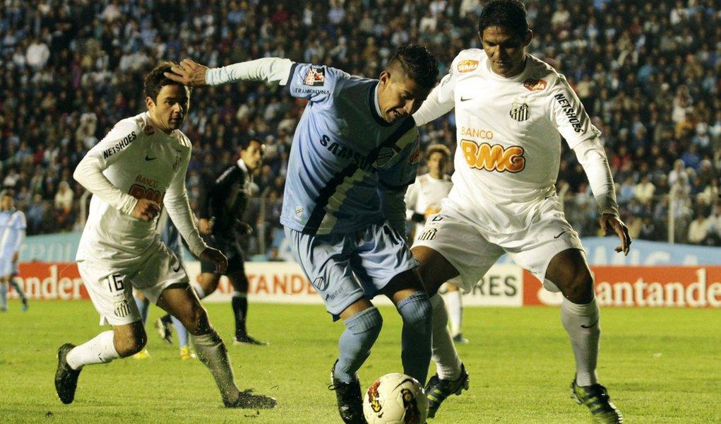 Santos perde por 2 a 1 para o Bolívar na altitude de La Paz