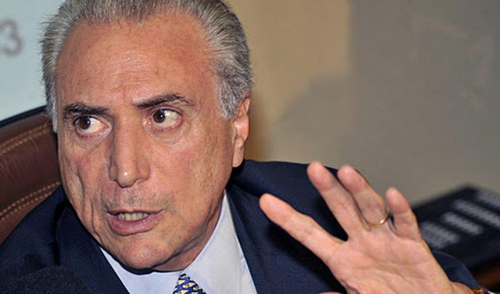 Temer quer PMDB-DEM, com Chalita e Moraes