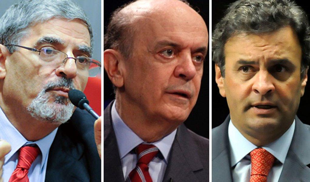 """Presidente do PSDB-SP diz que """"Serra não está morto"""""""