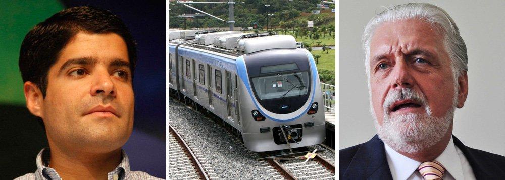 ACM Neto entrega metrô a Wagner em 90 dias