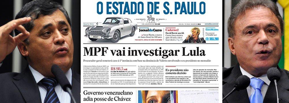 Estadão tentou manchar imagem de Lula, diz PT