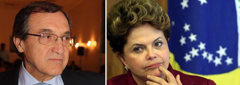 "Para Sardenberg, Dilma está sendo ""injusta"""