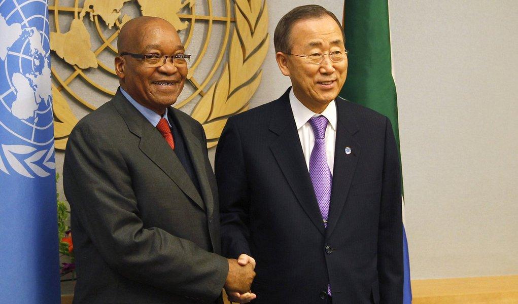 ONU pede apoio mundial ao Haiti