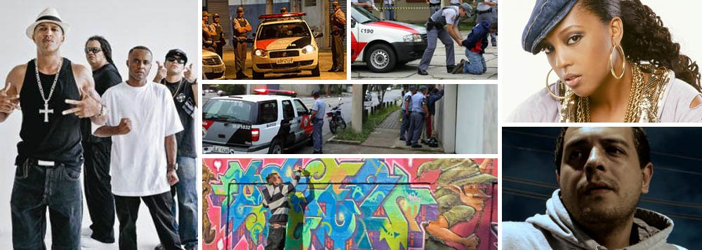 Rappers de SP cantam miséria e medo da polícia