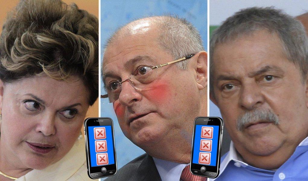 Caos dos celulares atinge Dilma e Lula. CPI?