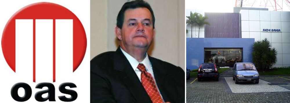 OAS vende ações da Rede Bahia a emissora de SP