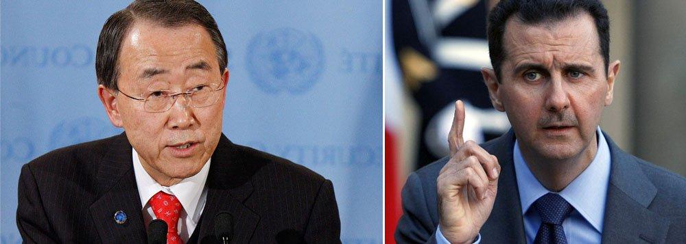 ONU condena discurso de Assad sobre plano de paz