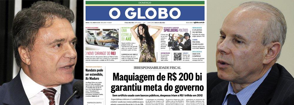 Em tabelinha com Globo, Dias quer ouvir Mantega