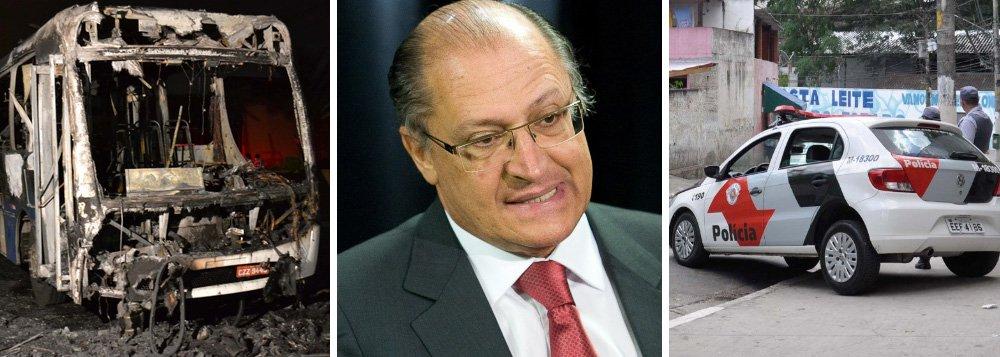 Balanço trágico da polícia agrava crise no governo Alckmin