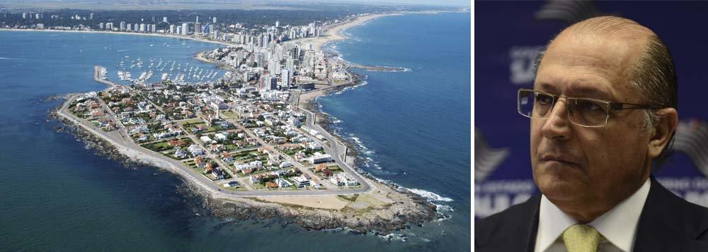 Governo de SP nega prisão de filho de Alckmin no Uruguai
