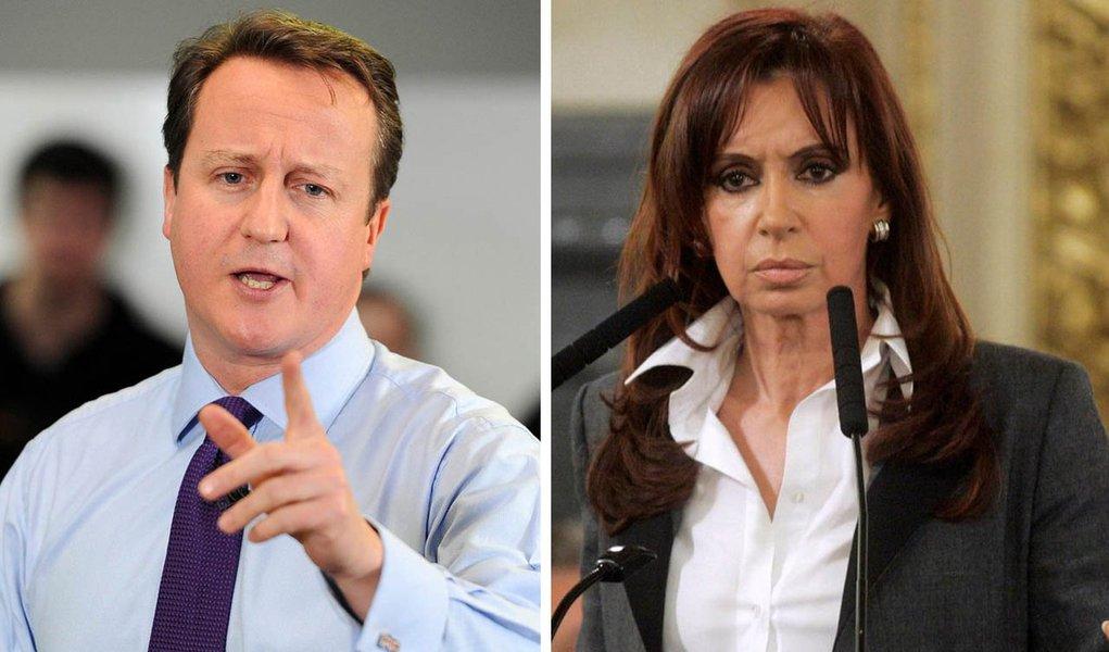 Cameron nega a Cristina devolução das Malvinas