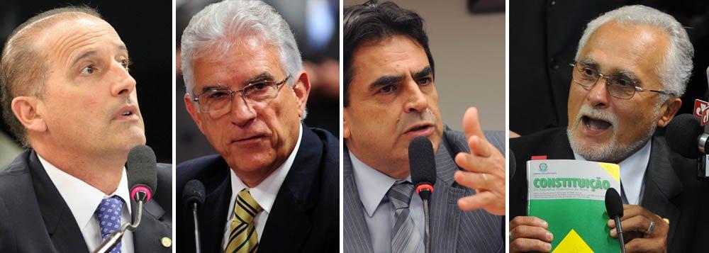 """Oposição reage à posse de Genoino: """"aberração"""""""