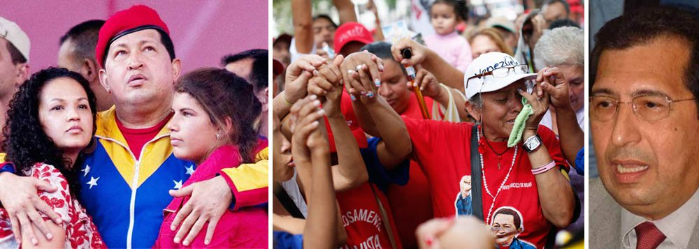 Irmão em Cuba para cortar aparelhos de Chávez