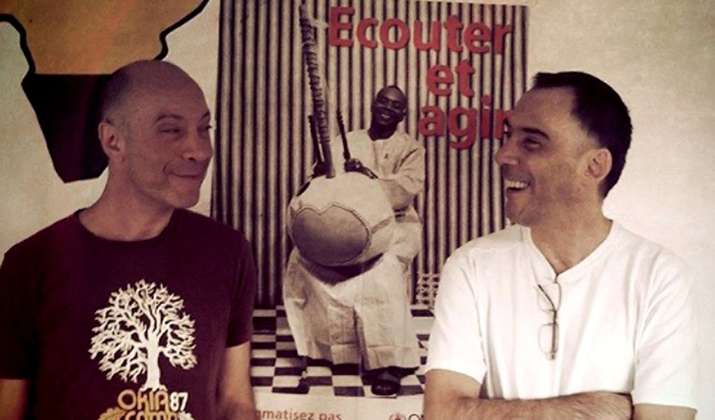 Arnaldo Antunes e Edgard Scandurra lançam CD e DVD