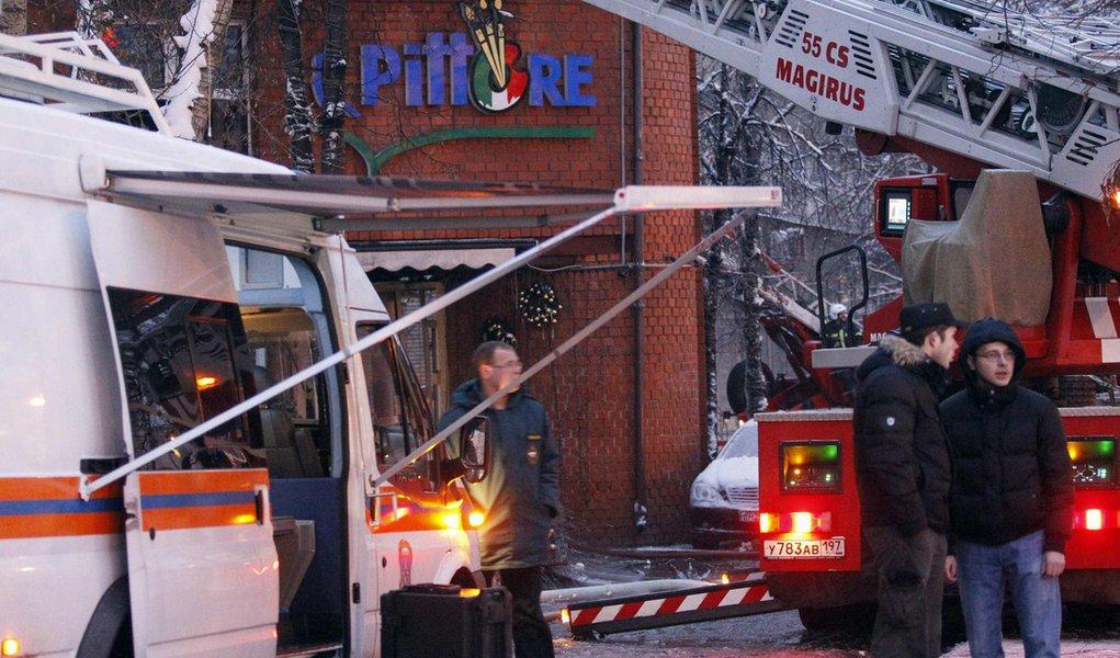 Explosão em restaurante mata 2 e fere 26 em Moscou