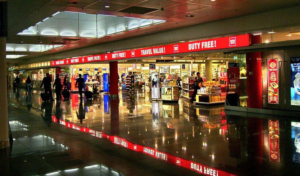 Receita autoriza free shops fora de áreas de desembarque