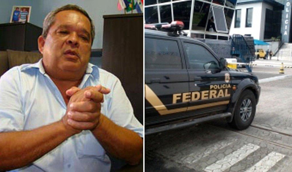 PF prende prefeito acusado de chefiar quadrilha no ES