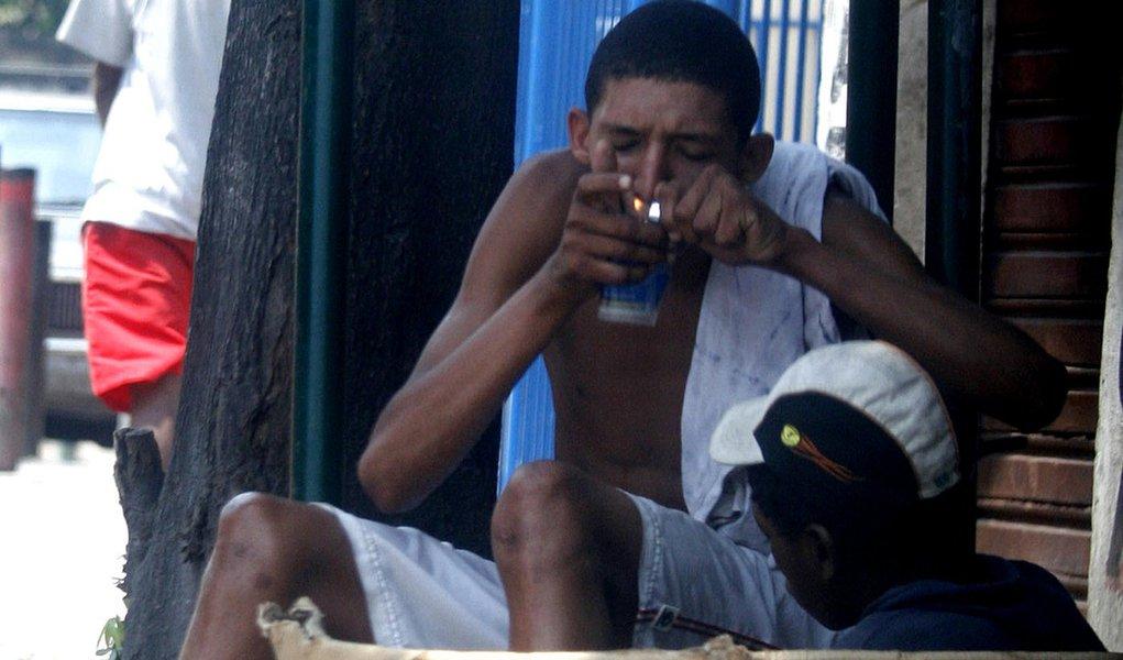 Combate ao crack tira 55 pessoas da rua no RJ
