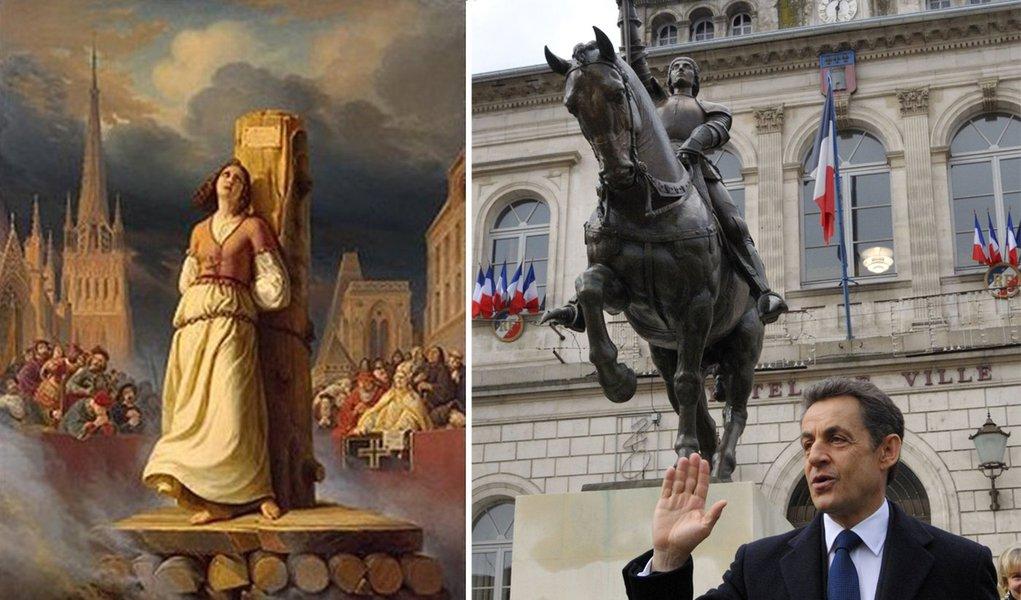 Mito de Joana D'arc domina a política francesa