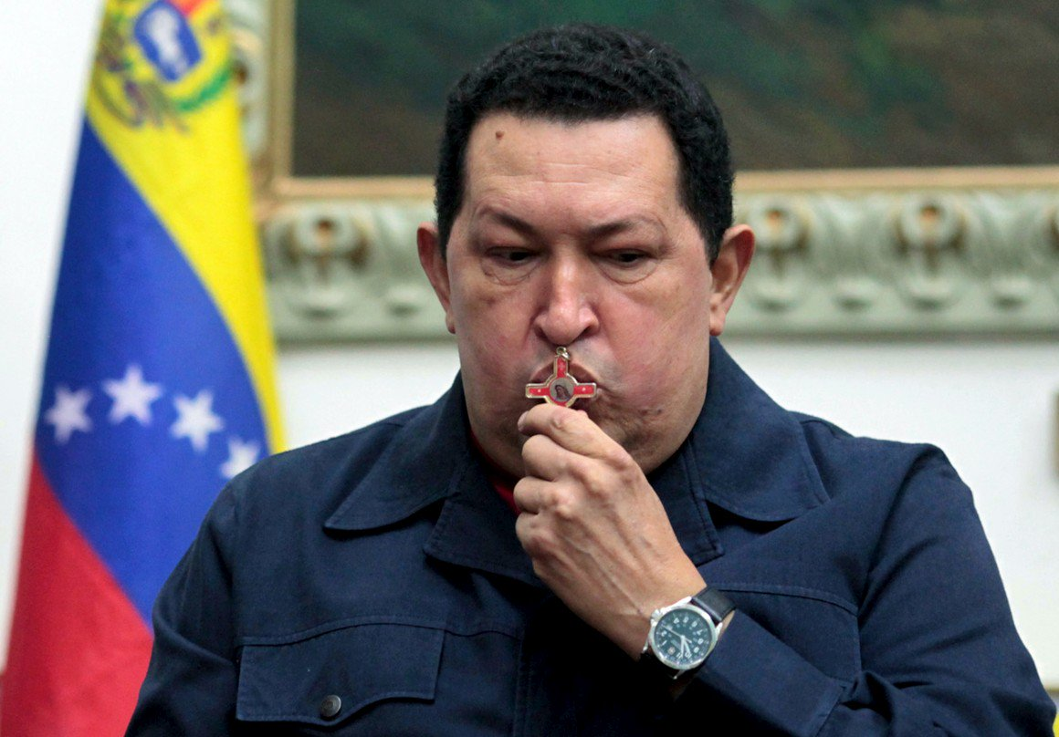 Hugo Chávez pode estar entre a vida e a morte