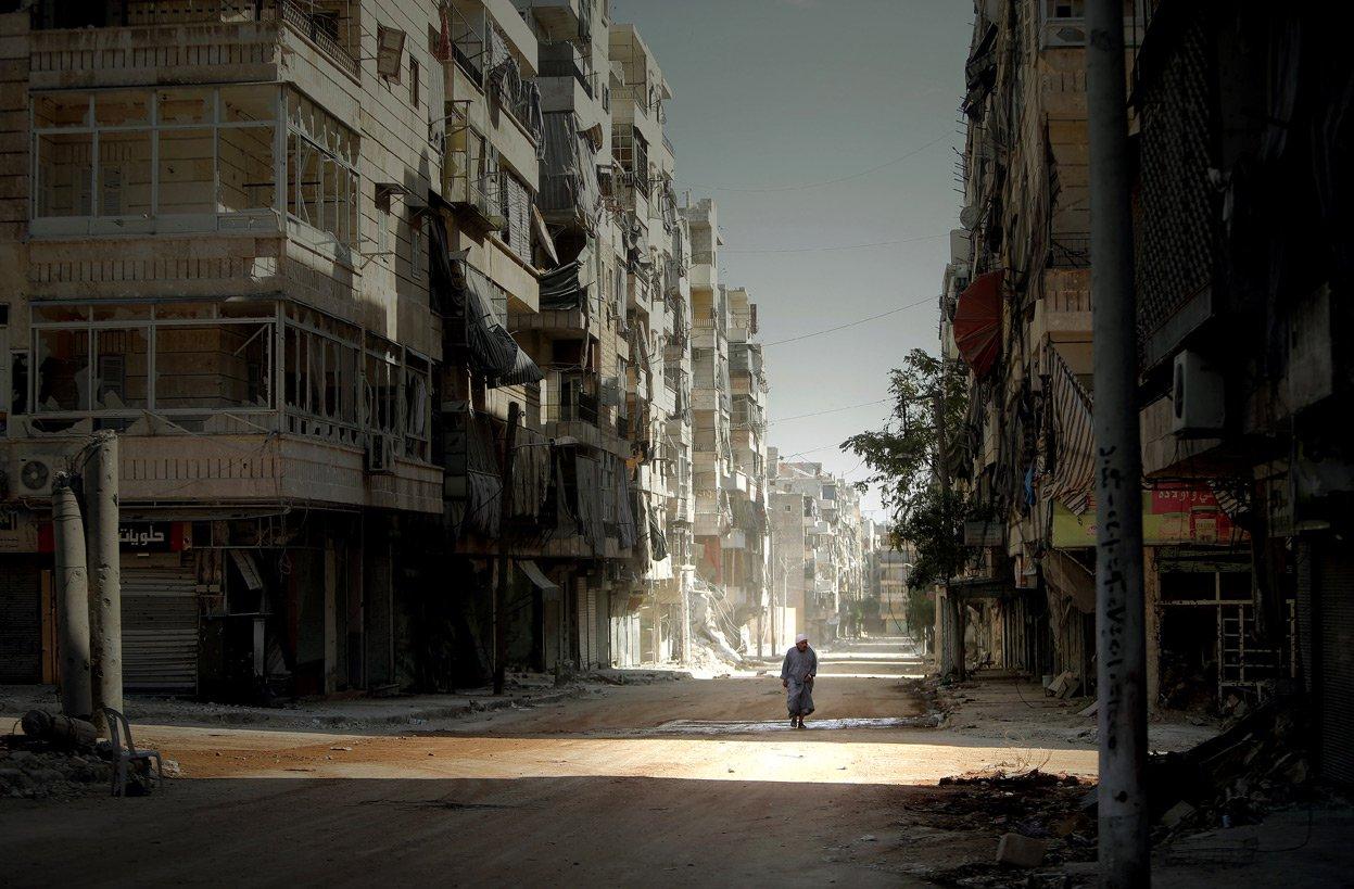 Os tesouros destruídos de Aleppo