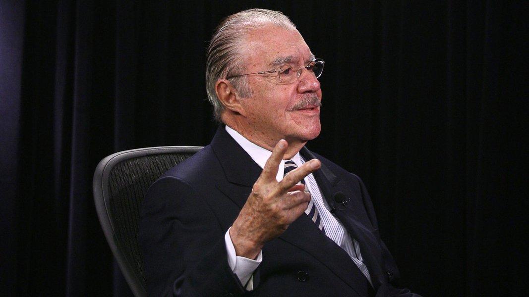 Sarney defende veto a candidaturas de ex-presidentes