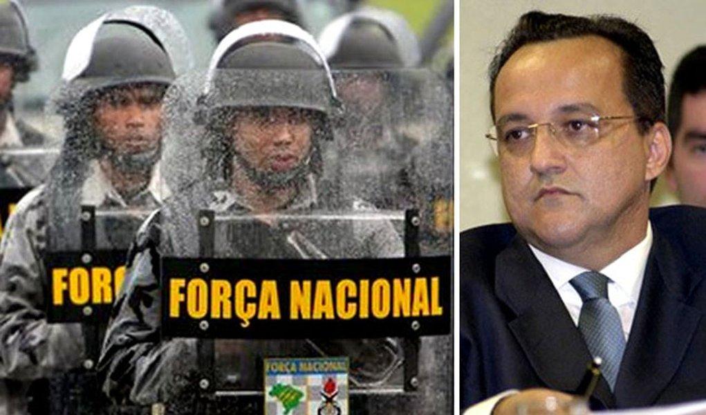Força Nacional na mira do Ministério da Justiça
