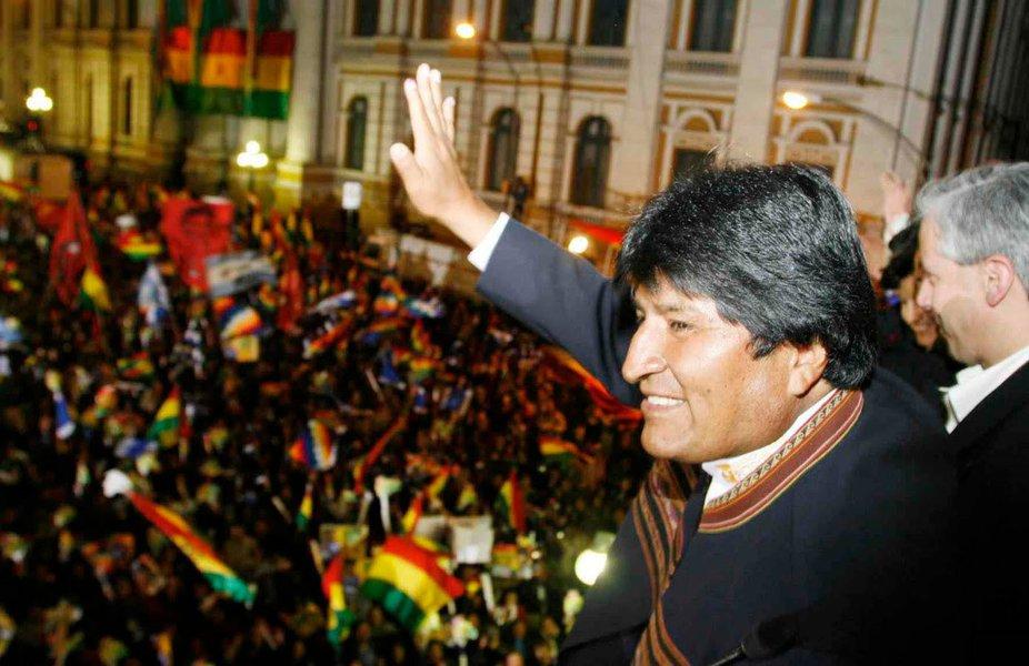 Morales nacionaliza empresas espanholas