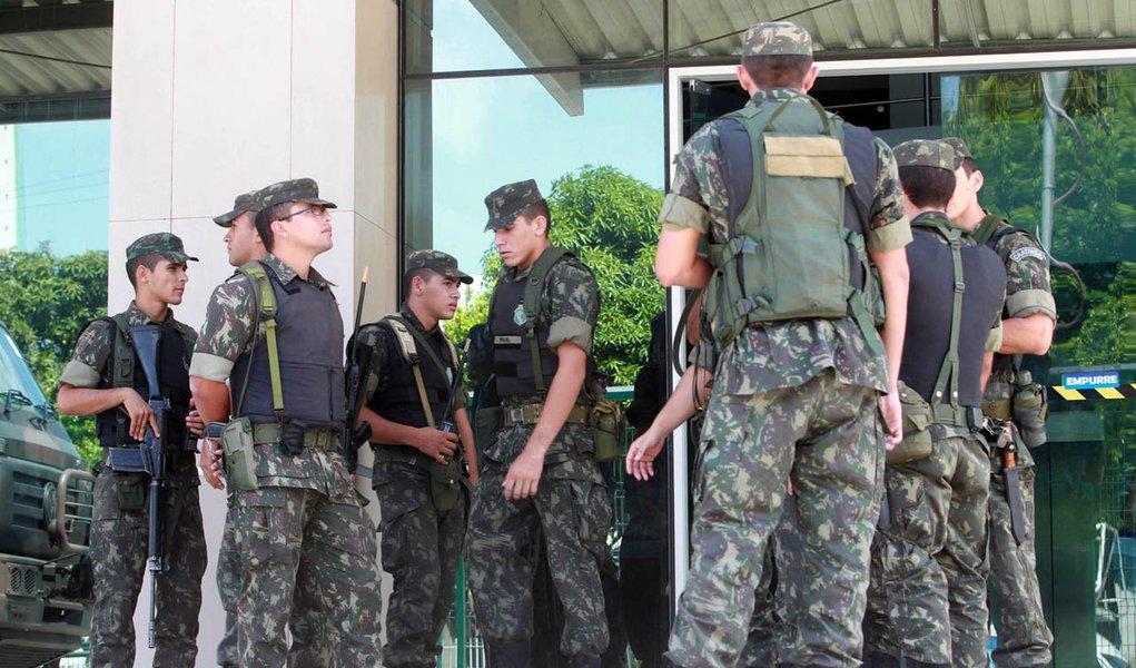 Exército completa 7 dias de atuação no Ceará