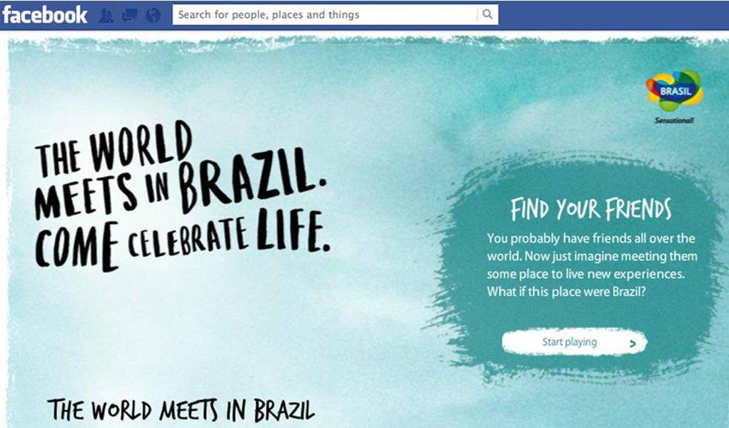 Embratur utiliza Facebook para divulgar nova campanha