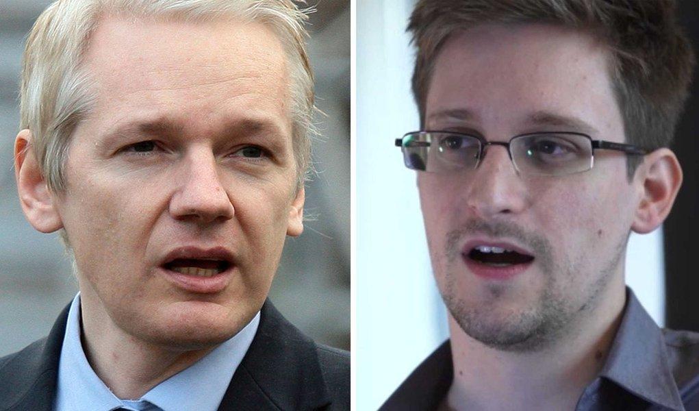 Julian Assange e Edward Snowden