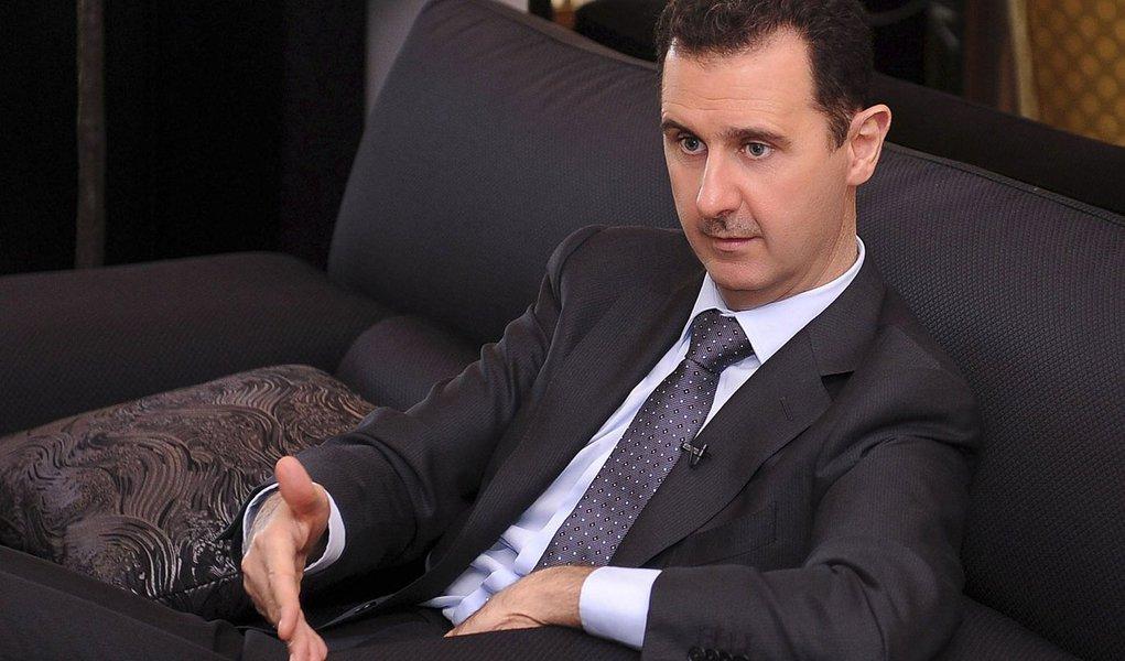 Presidente sírio acusa estrangeiros de incitar violência