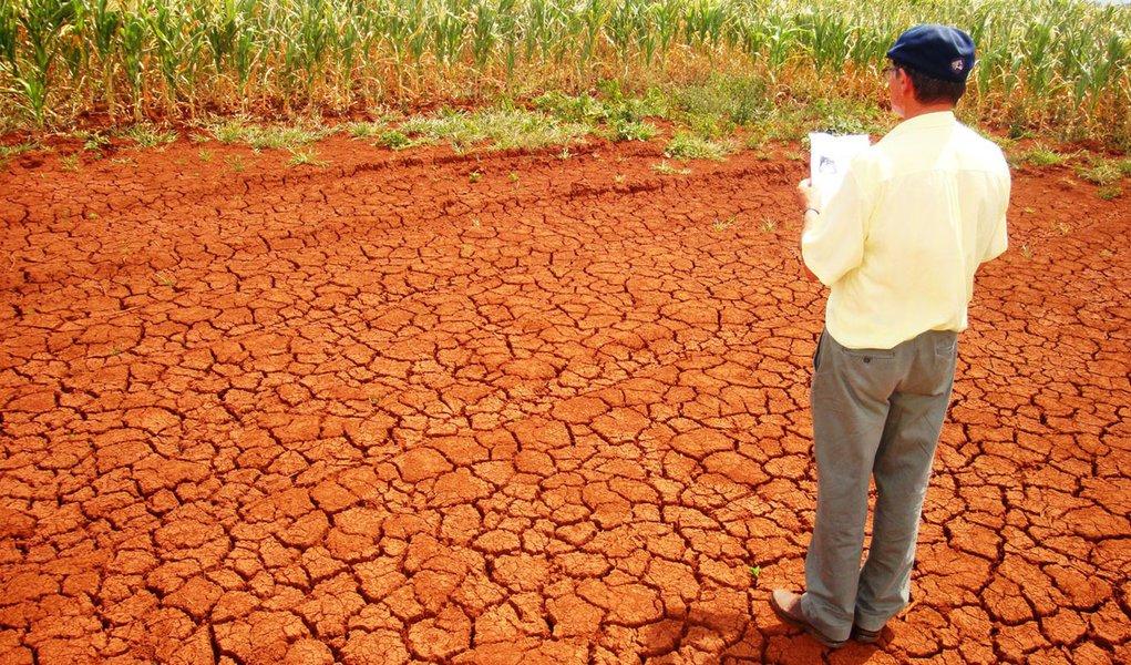 Seca no sul do País afeta mais de 650 mil pessoas