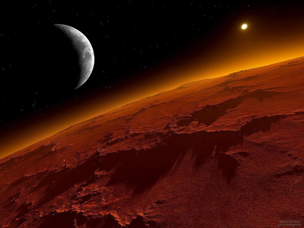 Opportunity encontra sinais de condição de vida em Marte