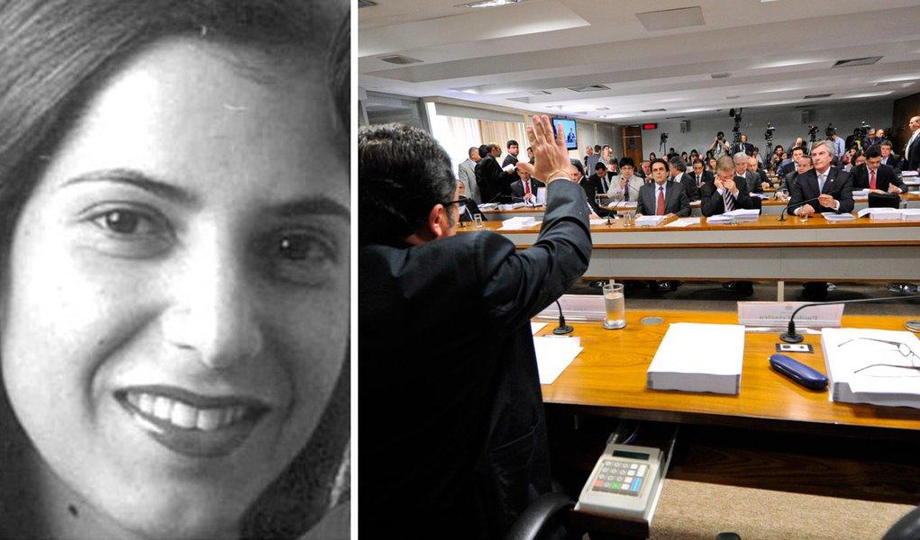 Ex-mulher de Cachoeira tenta garantir silêncio na CPI