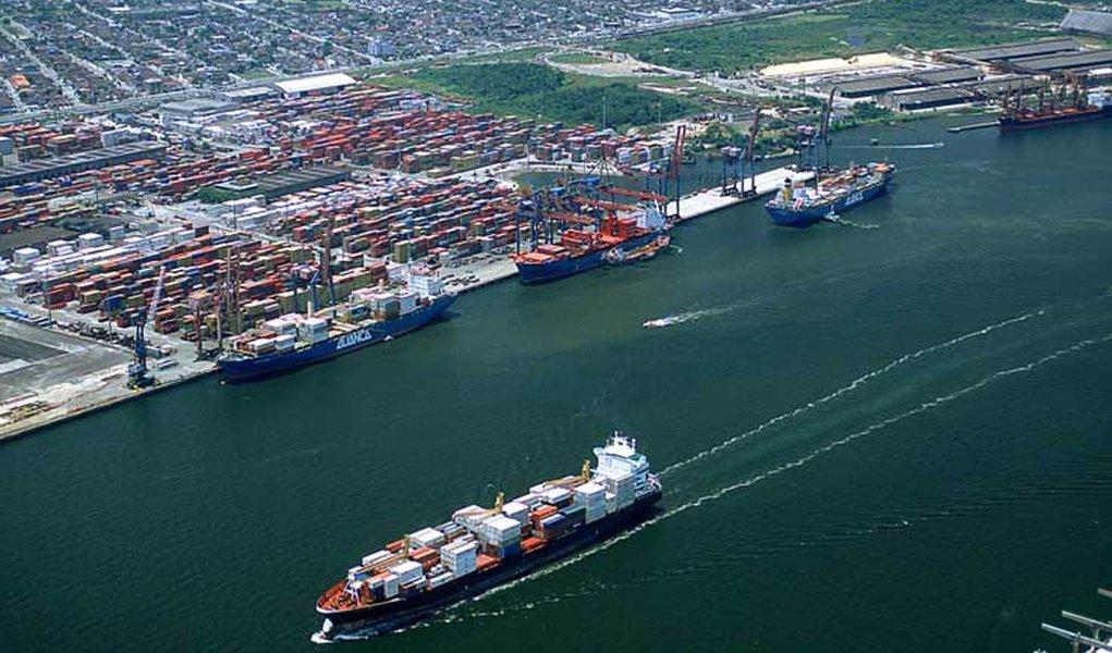 Movimentação no Porto de Santos ultrapassa 47 milhões de toneladas