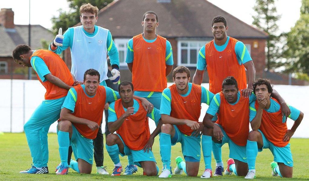 Seleção treina pela última vez antes do jogo de amanhã