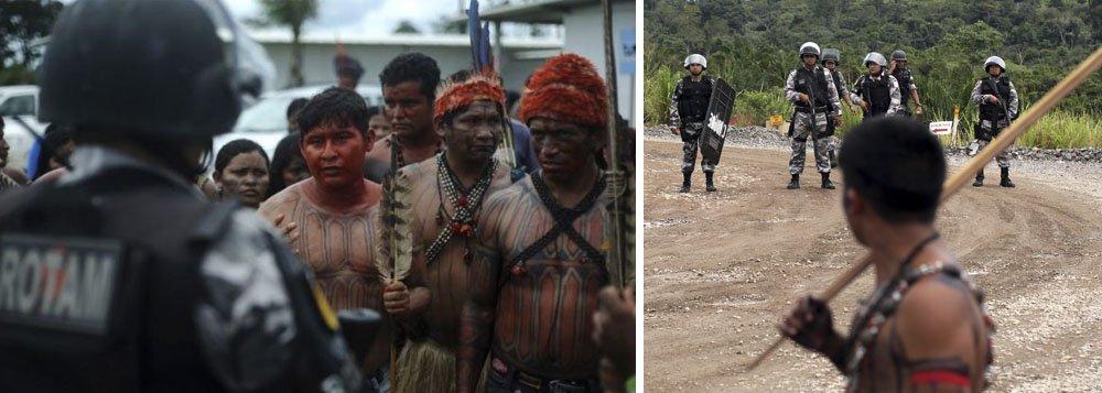 Índios: mais mortes nos governos do PT do que nos do PSDB