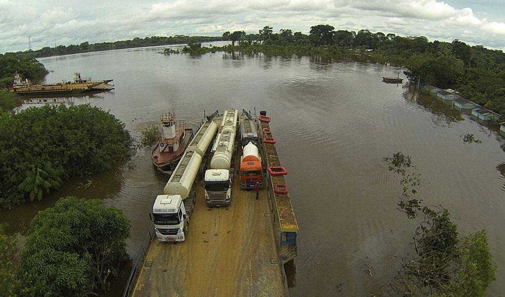 Cheia no Amazonas já custou R$ 185 mi desde 2009