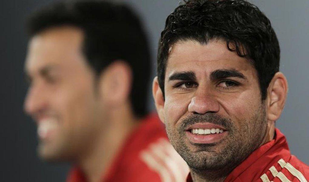 Sergipano, Diego Costa não teme rejeição da torcida por ter escolhido Espanha
